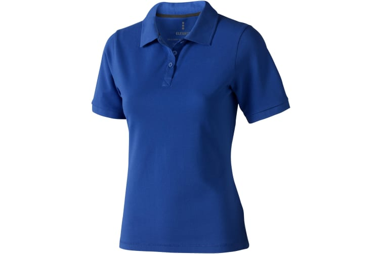 Elevate Calgary Short Sleeve Ladies Polo (Blue) (XS)