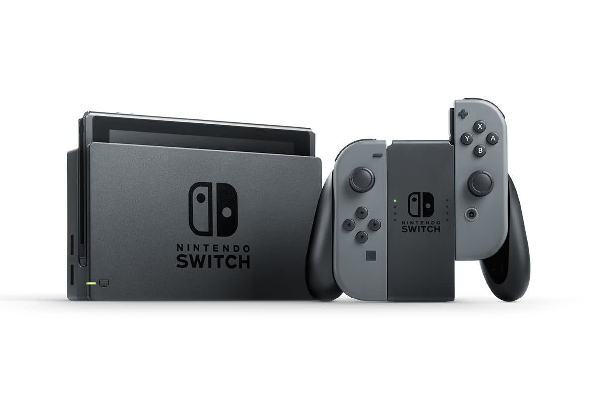 Image of Nintendo Switch Console - Grey