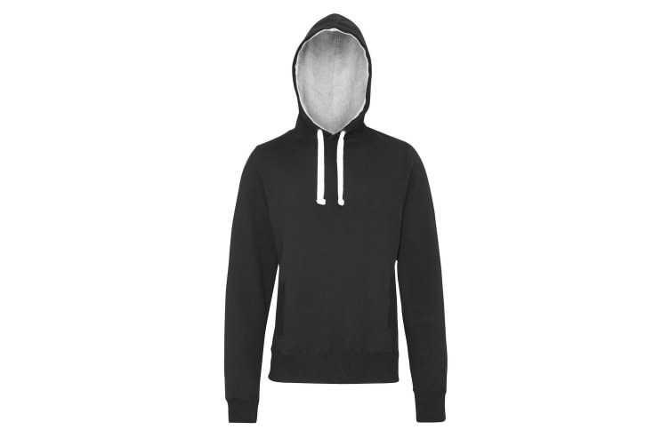 AWDis Just Hoods Mens Chunky Pullover Hoodie (Charcoal) (M)