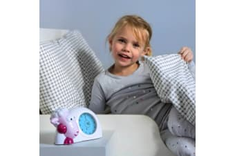 ZAZU Sleeptrainer Kids Clock SAM Pink