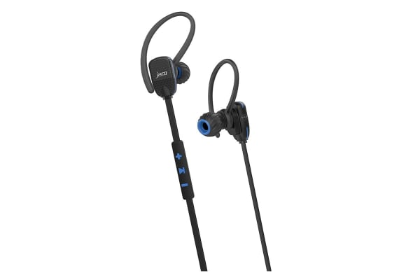 JAM Transit Wireless Micro Sports Buds - Blue (HXEP510BLB)