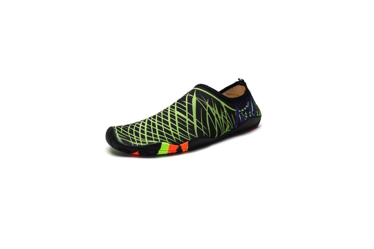 Beach Snorkeling Shoes Diving Lovers Wading Shoes Swimming Shoes 988 Green 41