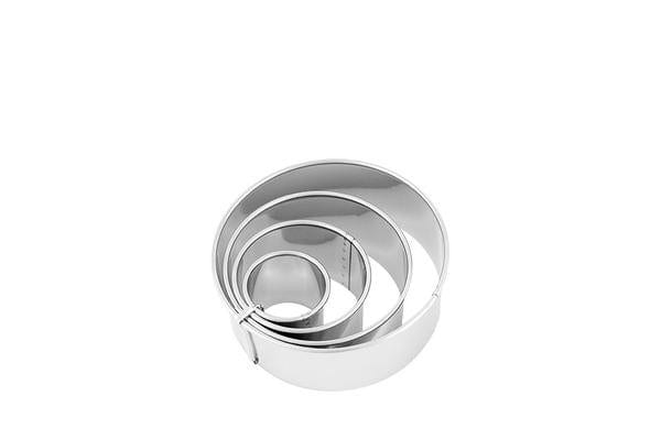 Chef Inox Plain Biscuit Cutter S/S 6.3cm