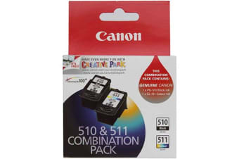 CANON PG-510 + CL-511 PACK 2