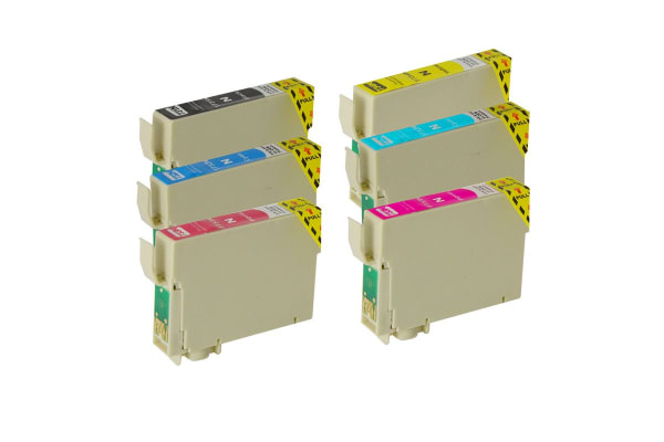 81N Compatible Inkjet Cartridge Set  6 Ink Cartridges