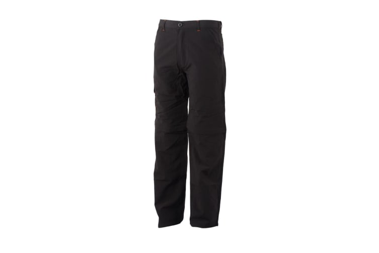 Regatta Great Outdoors Childrens/Boys Sorcer Zip-Off Trousers (Ash) (9-10 Years)