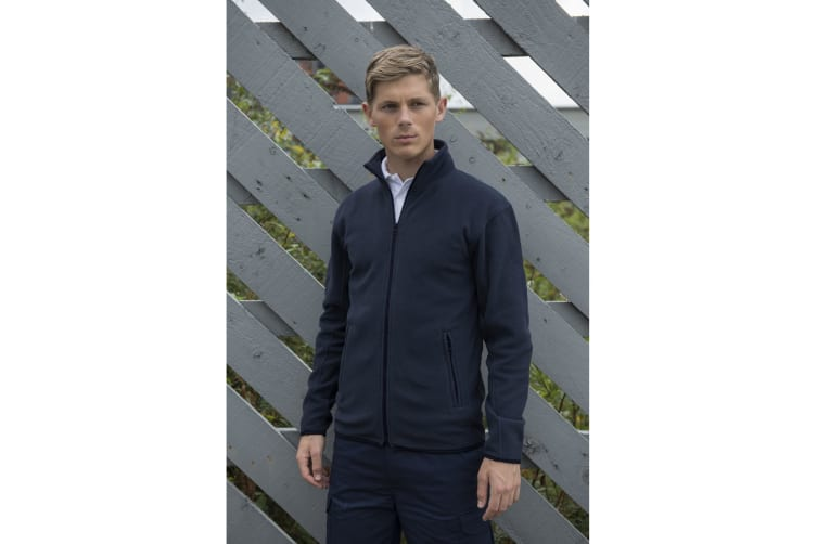 PRO RTX Mens Microfleece Jacket (Navy) (M)