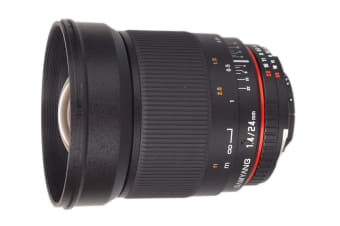 Samyang 24mm f/1.4 ED AS IF UMC (Canon Mount)