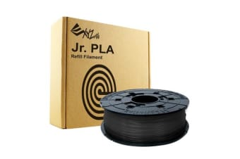 XYZ da vinci filament for mini maker /jr- pla refill pack - black