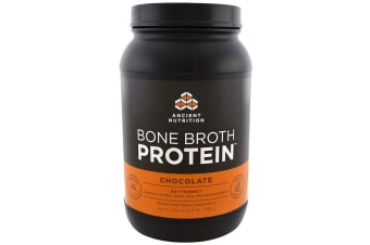 Dr. Axe / Ancient Nutrition Bone Broth Protein - Chocolate 1008g