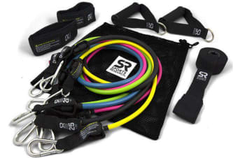 Sports Research Performance Resistance Bands - 5 Bands