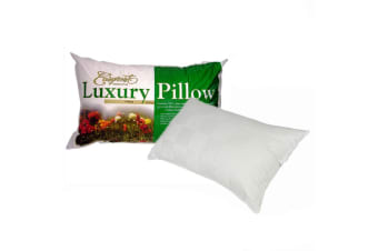 Luxury Range Sateen Cover Firm Profile Standard Pillow