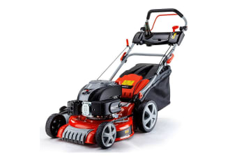NEW Lawn Mower Self Propelled Lawnmower 4 Stroke Mulch Petrol 19' 165cc BAUMR-AG