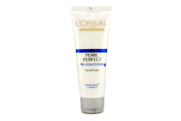 L'Oreal Dermo-Expertise Pearl Perfect Re-Lighting Whitening Facial Foam (100g/3.3oz)