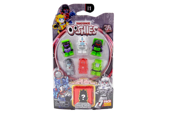 Ooshies Transformers 7 Pack (Assorted)