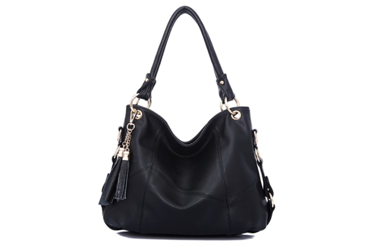 best loved half price premium selection Arrival Leather Satchel Purses And Handbags Shoulder Tote Crossbody Bag  Black
