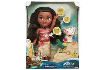 Moana Feature Singing Adventure Doll