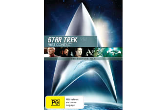 Star Trek 8 First Contact DVD Region 4