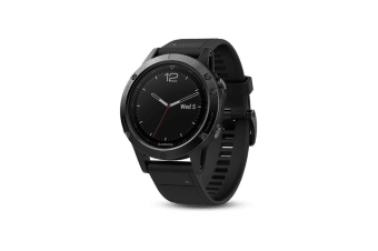 Garmin Fenix 5 Sapphire Edition Black with Black Band