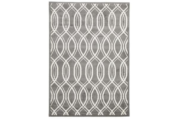 Indoor Outdoor Lucid Rug Grey 330x240cm