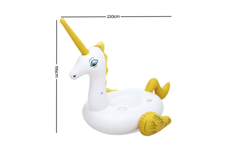 Bestway Inflatable Pool Float Raft Unicorn Swimming Lounge Toy Bed