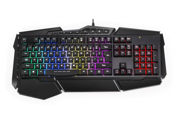 Kogan Rainbow Backlit Gaming Keyboard