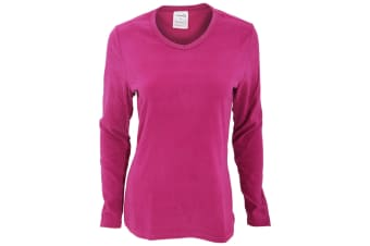 ProClimate Womens/Ladies Thermal Long Sleeve V-Neck Top (Pink)