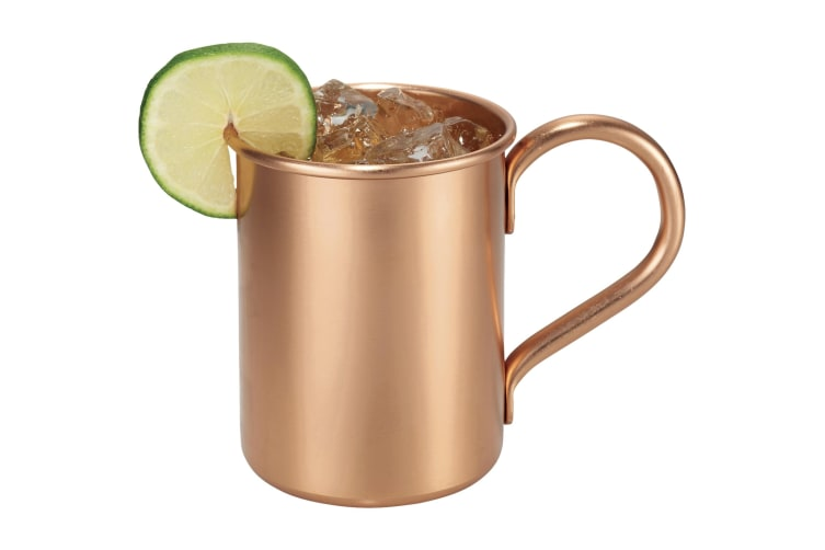 Avenue Moscow Mule Mug Gift Set (Copper) (18.4 x 9 x 10.7 cm)