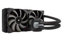 Corsair H115i 280mm Extreme Performance Liquid CPU Cooler.  2x 14CM Fan Support Corsair LINK. SOCKET TR4 READY