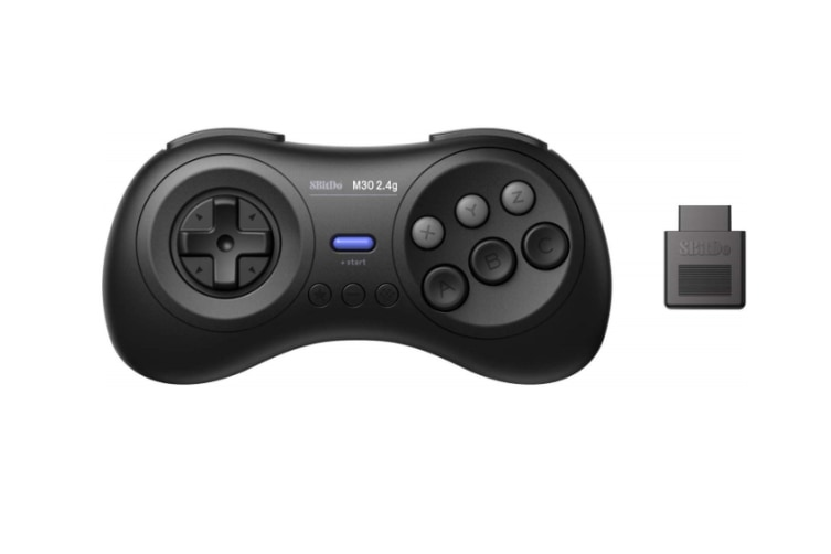 8Bitdo M30 Bluetooth Gamepad for Nintendo Switch, PC, macOS and Android with Sega Genesis & Mega Drive Style