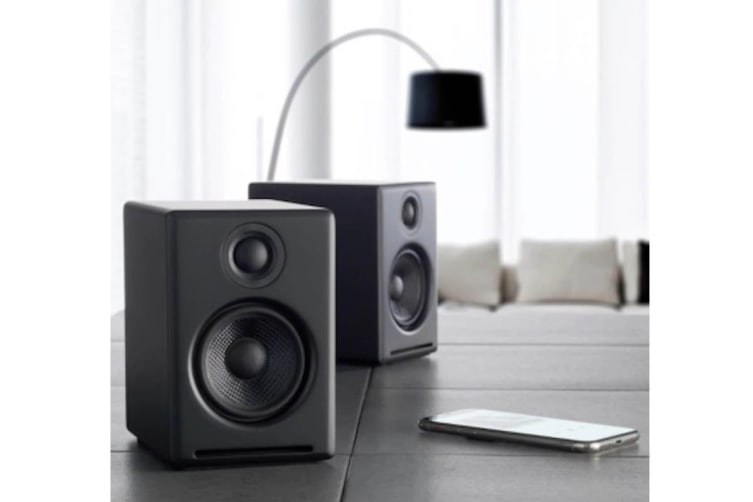 Audioengine 2+ Wireless Desktop Speakers Pair - Satin Black (90027125)