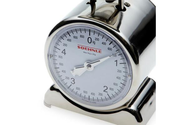 Soehnle Silvia Stainless Steel Analogue Scale