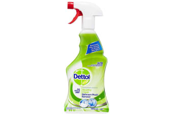 Dettol 500ml Healthy Clean Bathroom/Tiles/Mould Cleaning Spray Cleaner Formula