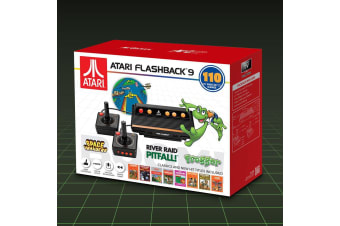Official Atari Flashback 9 Boom! Retro Gaming Console + 110 Games!