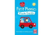 I'm Starting School: First Phonics Flash Cards - Essential flash cards for all English phonics sounds