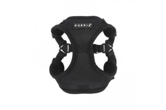 Puppia Soft Harness C Black - L