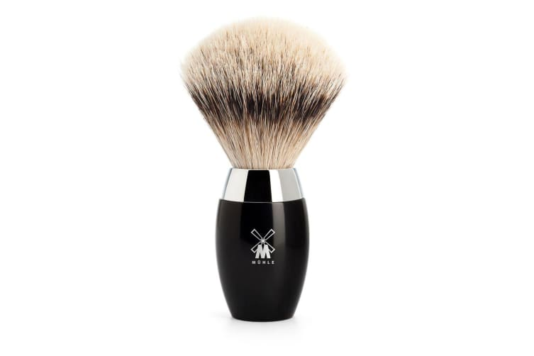 Muhle Kosmo 091 K 876 Silvertip Badger Brush Black 1pcs