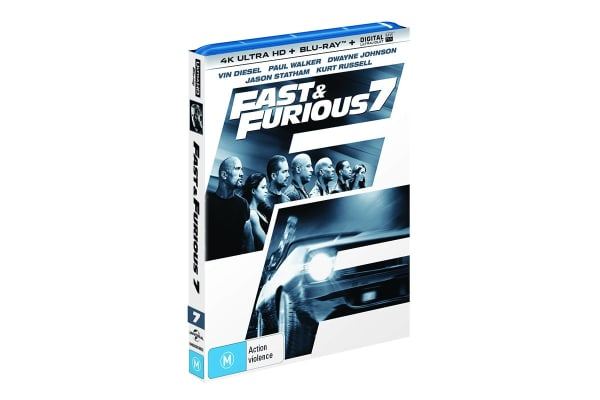 Fast & Furious 7 4K Ultra HD UHD