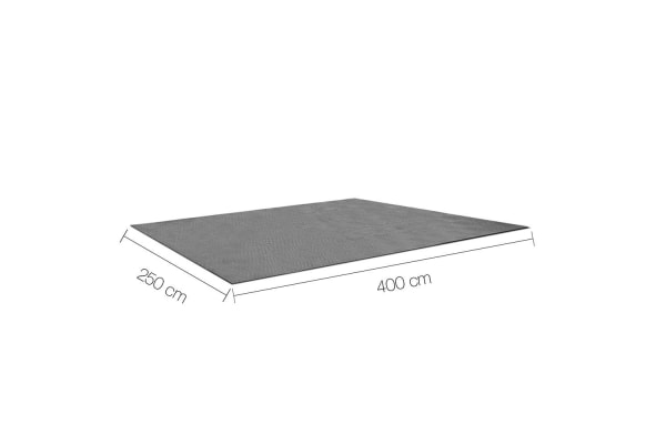Heavy Duty Annex Matting 4 x 2.5M (Grey)