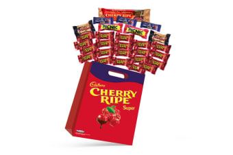 28pc Cadbury Cherry Ripe Kids Super Showbag w/Bite Size Chocolates/Ganache