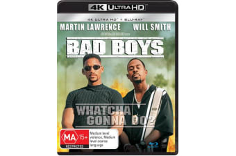 Bad Boys 4K Ultra HD Blu-ray UHD Region B