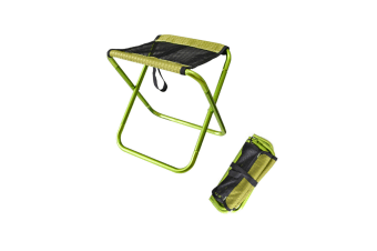 Folding Chair Portable Outdoor Folding Chair Portable Stool Green