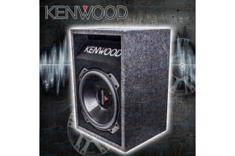 "KENWOOD 12"" 2000W WATT SVC 4OHM SUBWOOFER SUB + PORTED BOX ENCLOSURE NEW BOX3016"