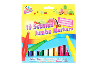ArtBox Scented Thick Jumbo Markers (Pack Of 8) (Multicoloured) (One Size)