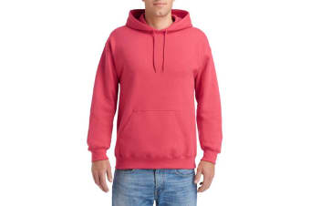 Gildan Heavy Blend Adult Unisex Hooded Sweatshirt / Hoodie (Paprika) (S)