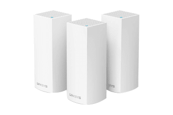 Linksys Velop Intelligent Mesh WiFi System Tri-Band 3-Pack White (AC6600)