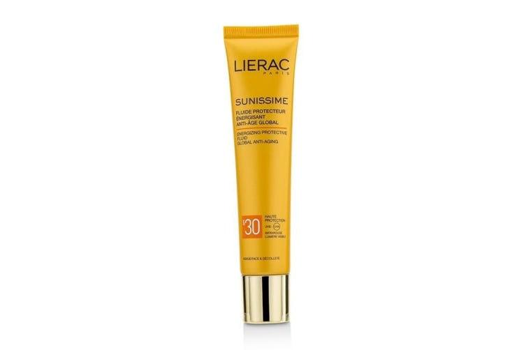 Lierac Sunissime Global Anti-Aging Energizing Protective Fluid For Face & Decollete 40ml