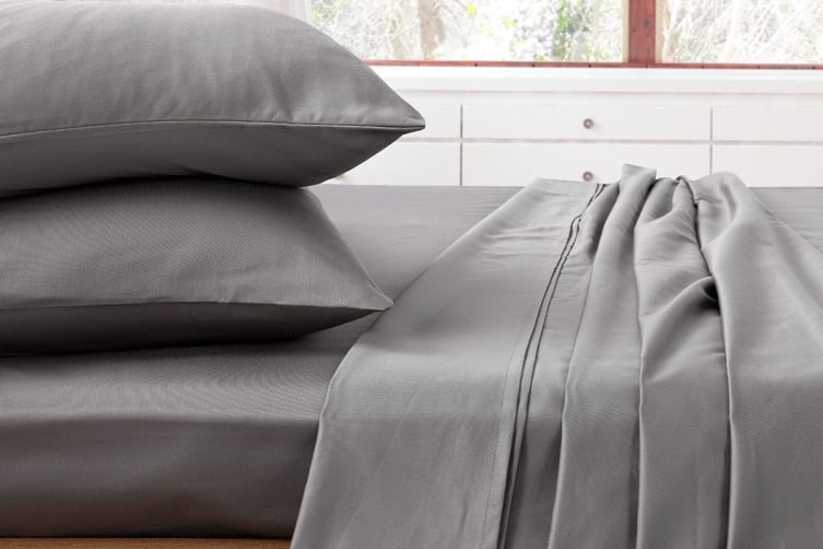 Ardor 1000TC Luxury Sheet Set (King, Charcoal)
