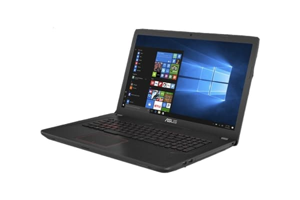 "ASUS 17.3"" Core i7-7700HQ 8GB RAM 1TB HDD + 128GB SSD GTX 1050 4GB Full HD Gaming Notebook (FX753VD-GC007T)"