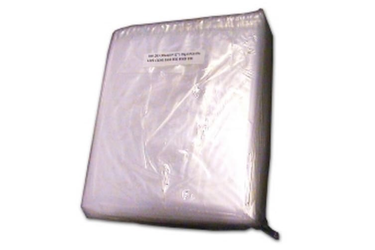Kingfisher Packaging Clear Polythene Bags (Pack Of 1000) (Clear) (8 x 10 Inches)